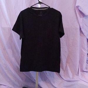 Black Hanes T-shirt